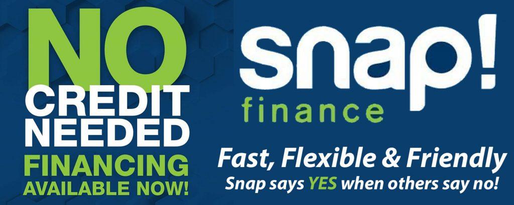 Snap Financing Banner